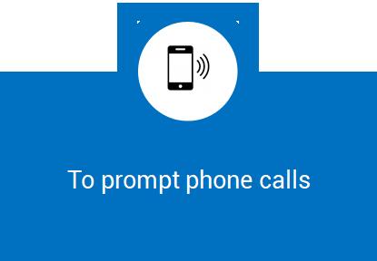 Prompt Phone Calls