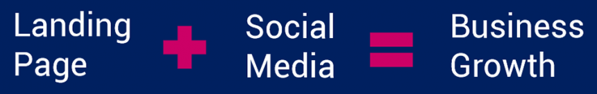 Landing Page Plus Social Media